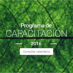 Programa de Capacitación 2016 - Segundo Semestre
